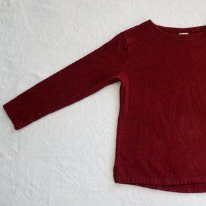A New Day - Maroon Long-Sleeve Shirt